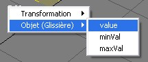 glissière value