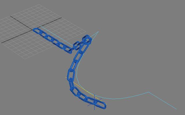 Chaine 3ds max spline IK solver