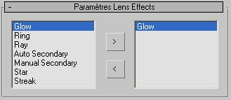 Lens Effects 3dsmax