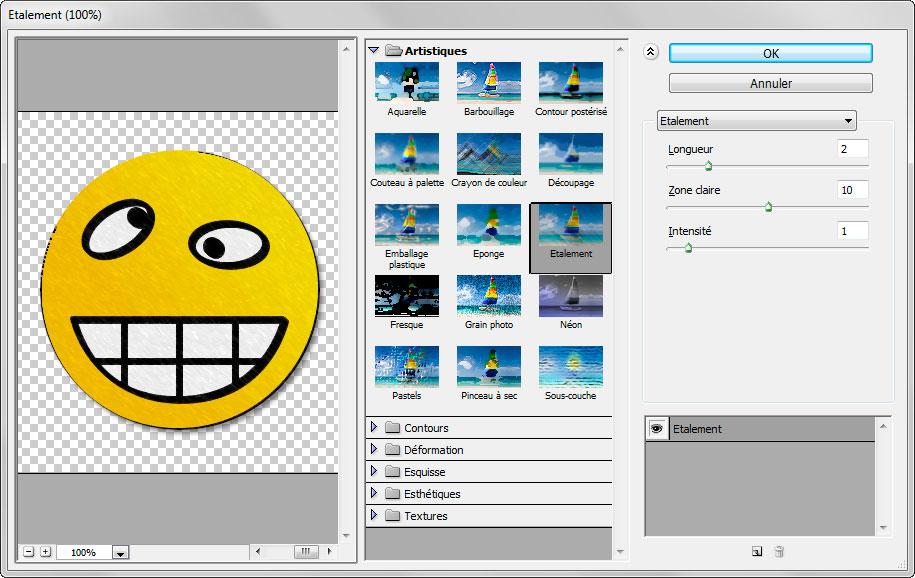 filtre artistique photoshop cs6