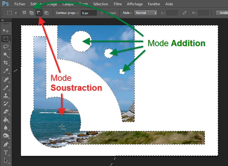 Mode addition soustraction