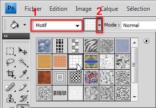 Créer Un Motif Photoshop