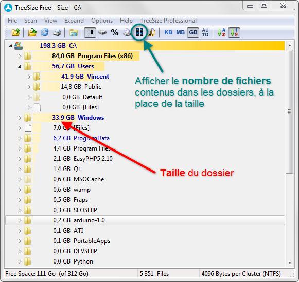 Afficher la taille des dossiers dans l 39 arborescence sous windows 7 - Comment classer ses photos avec windows 10 ...