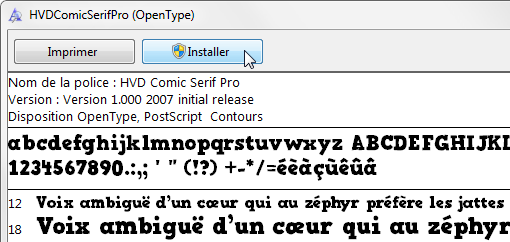 ajouter police photoshop mac