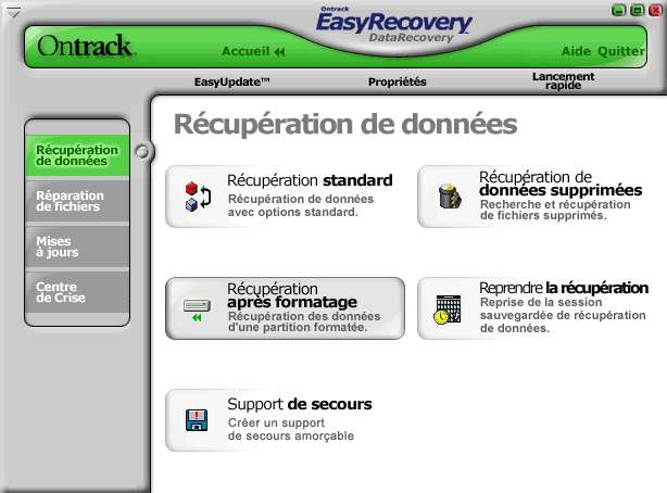 tuto recuperation donnees