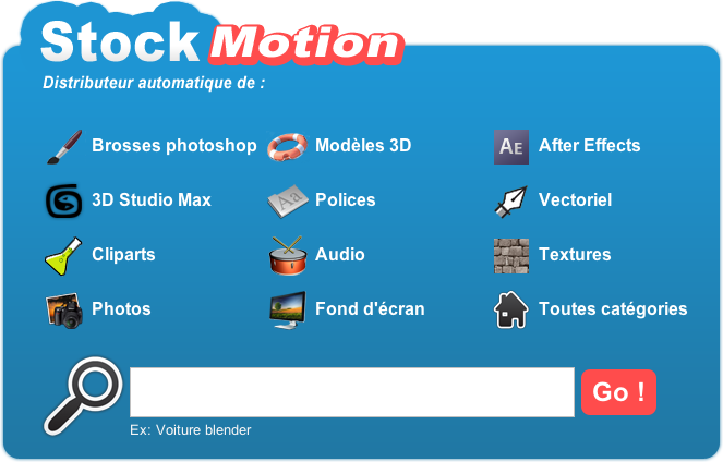 stockmotion menu
