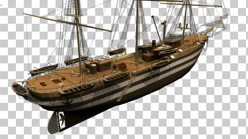 navire 3 mats