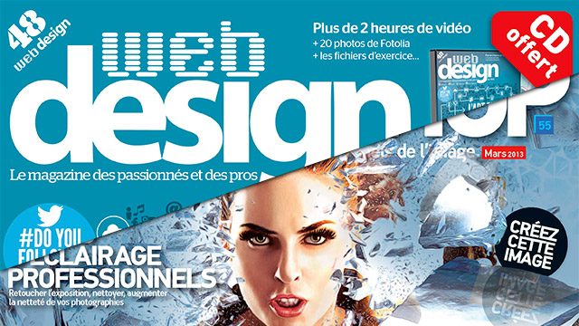 Advanced Creation n°55 + Webdesign n°48