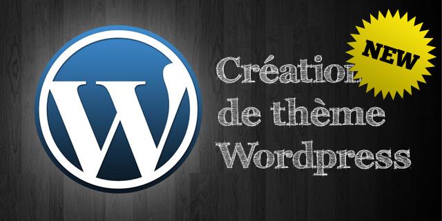 Cours thème Wordpress