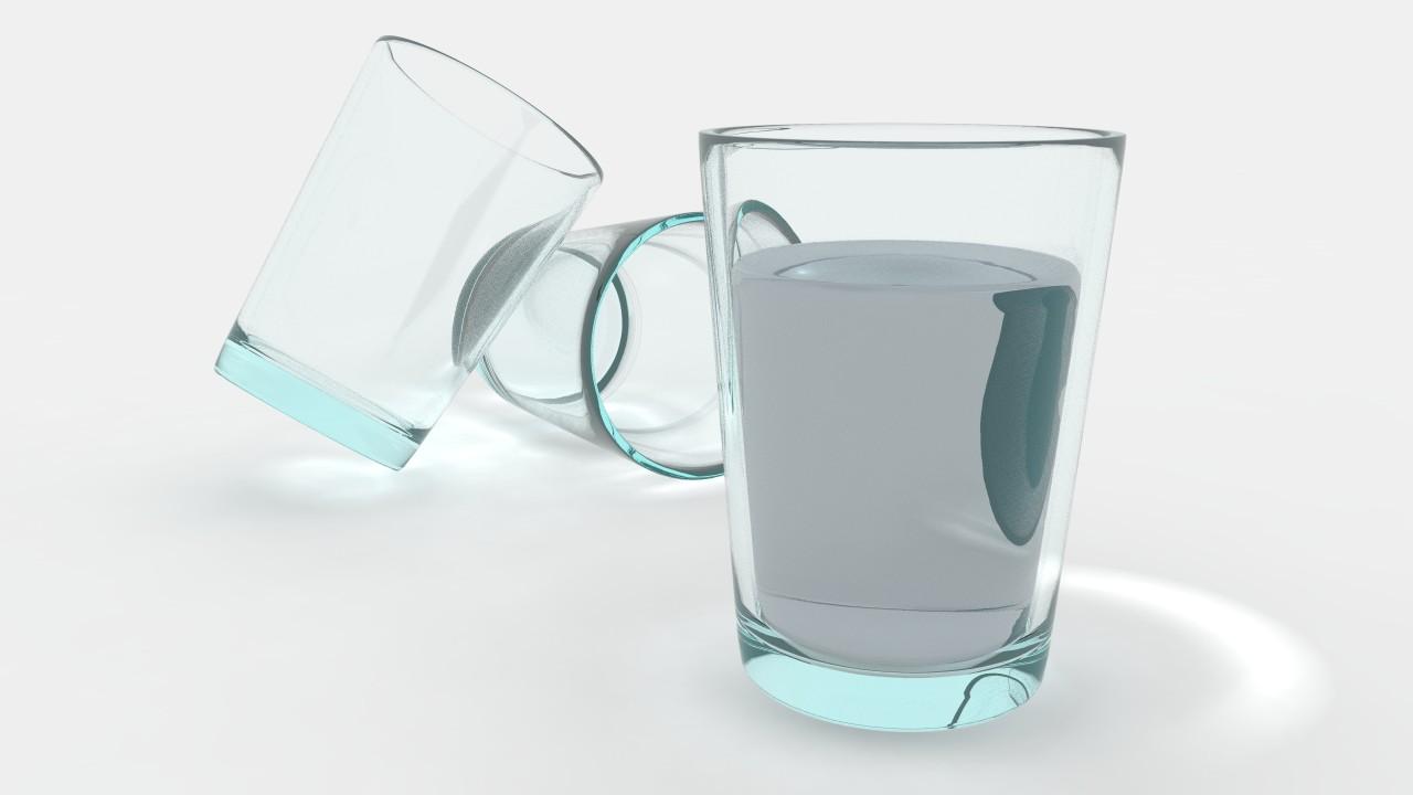 cr er un verre d 39 eau avec 3ds max et mental ray. Black Bedroom Furniture Sets. Home Design Ideas